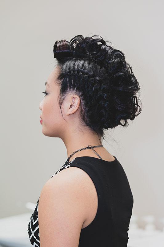 hair to train braided hairstyle