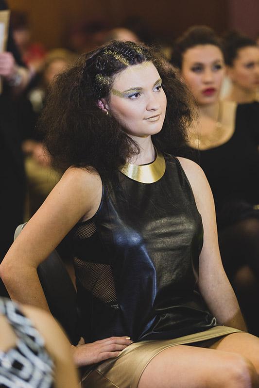 hair to train models and students at graduation